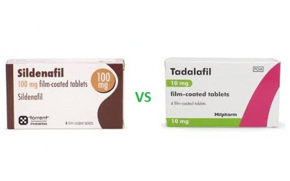 Sildenafil VS Tadalafil | Which is best for cure erectile dysfunction?